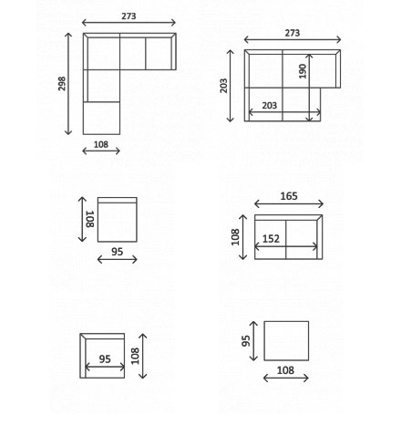 Модульный диван Арабика, фото 4