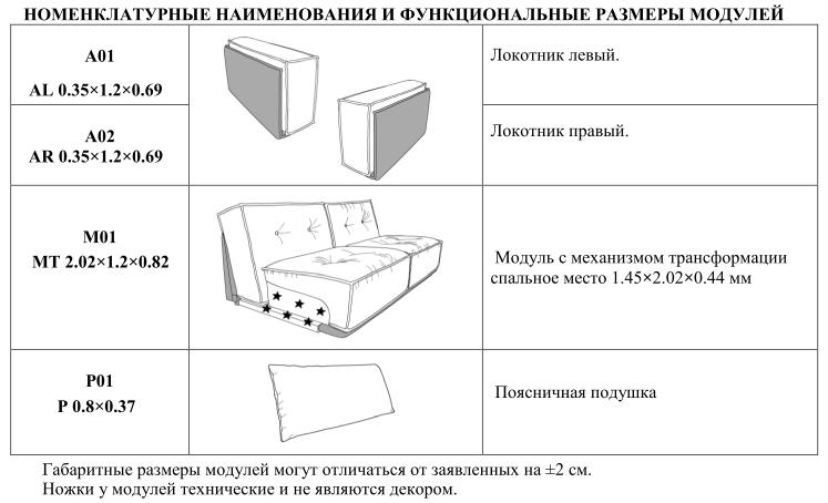 Модульный диван Лофт, фото 8
