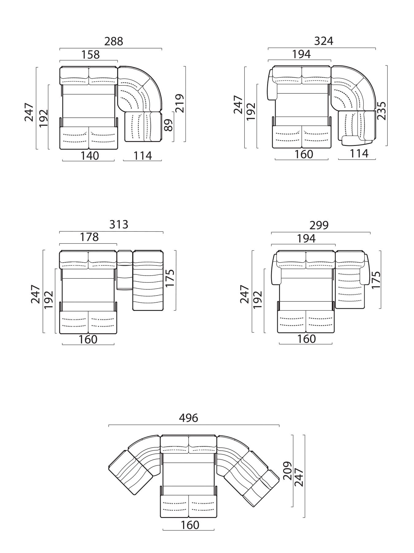 Модульный диван Лаго, фото 9