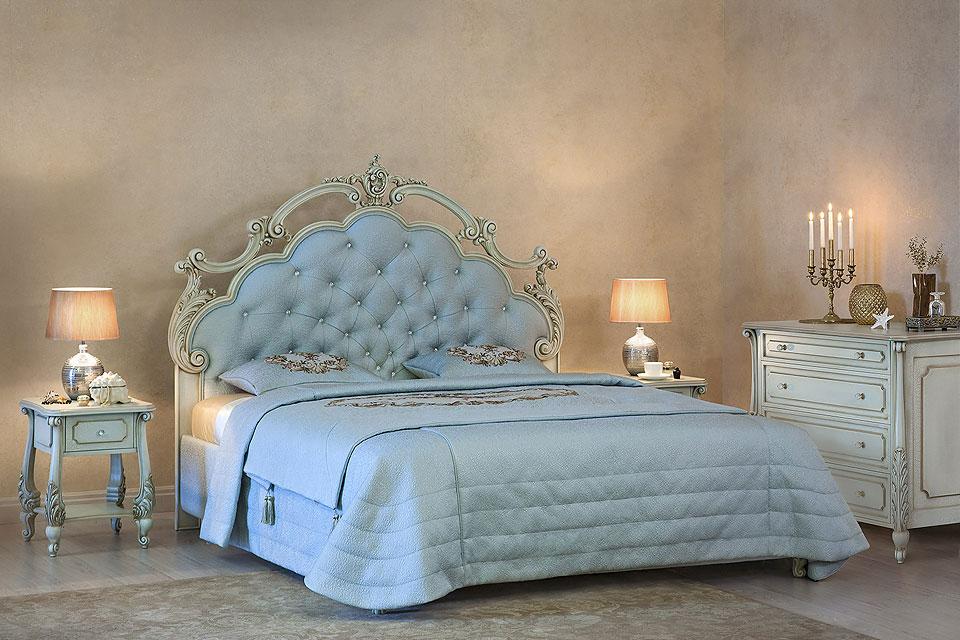 Двуспальная кровать Сорренто, фото 1