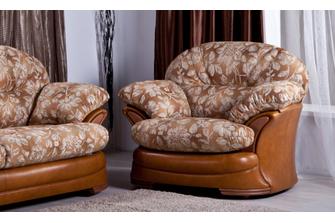 Кожаное кресло Редфорд, фото 1