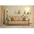 Прямой диван-кровать «Зимняя Венеция 3-x местная», фото 1